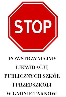 Powstrzymajmy likwidację publicznych szkół i przedszkoli